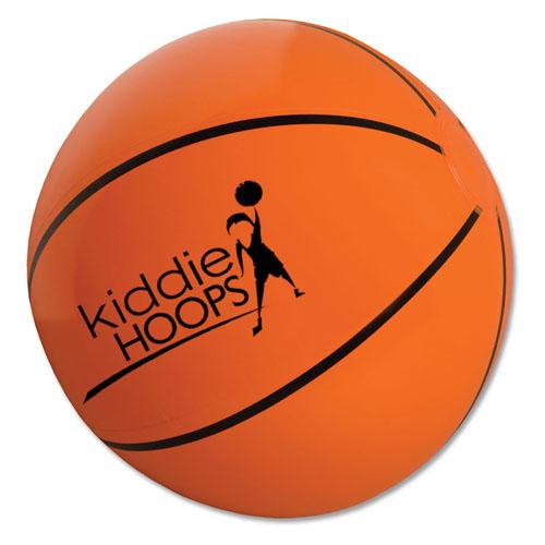 10 Inch Custom Printed Basketball Beach Balls