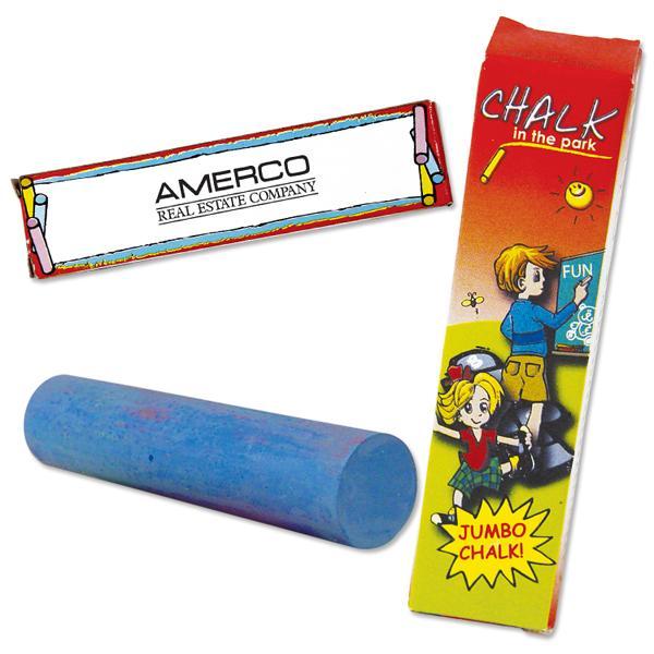 Customized 1 Pack Jumbo Chalk