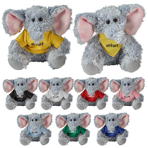 Promotional Logo Cuddliez Elephant Plush Toys