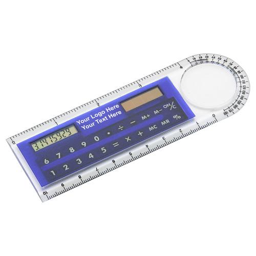 4 Inch Custom Imprinted Multifunction Rulers
