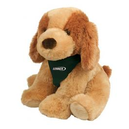 8 Inch Custom Printed Plush Dog Bo