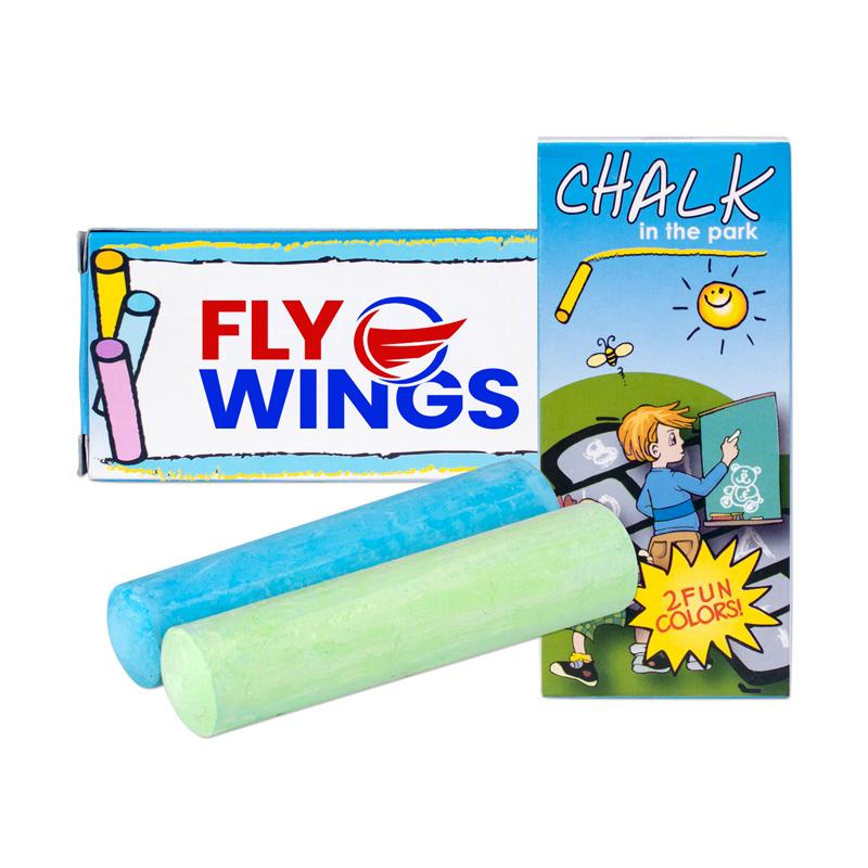 Customized 2 Pack Jumbo Chalk