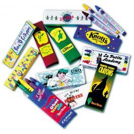 Custom 2 Pack Crayons Box