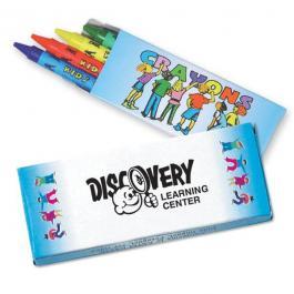 Customized 4 Pack Premium Crayons
