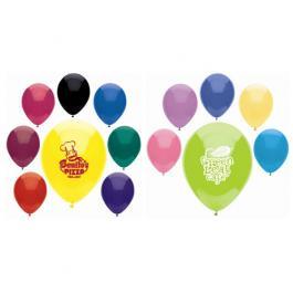 "Custom 11"" Balloons Crystal/Fun Colors"