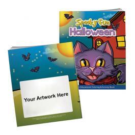Custom Coloring Book with Mask - Spooky Fun Halloween