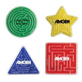 Custom Imprinted Assorted Maze Puzzles