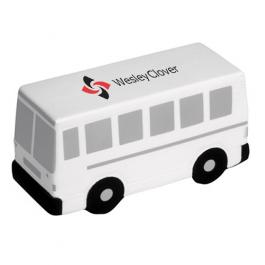 Custom Imprinted City Bus Stress Toys