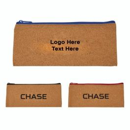 Custom Imprinted Cork Pencil Pouches