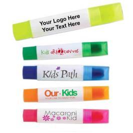 Custom Imprinted Gel-Wax Crayon Highlighters