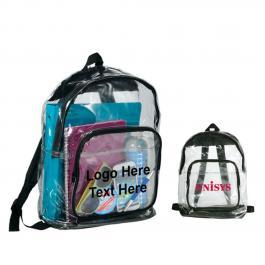 Custom Imprinted Rally Clear Backpacks