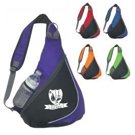 Custom Polyester Sling Backpacks