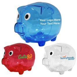 Custom Printed Big Boy - Large Piggy Banks