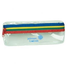 Custom Printed Clear Pencil Case