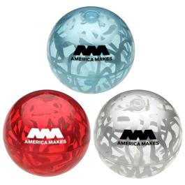 Custom Printed Crackle Promo Bounce Balls