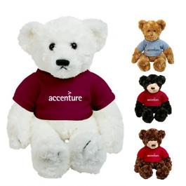Custom Printed Dexter Plush Bears
