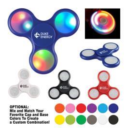 Custom Printed Light-Up LED Fun Spinners