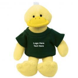 Custom Printed Mascot Plush Ducks