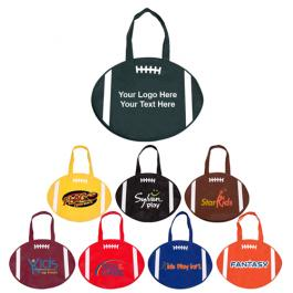 Custom Rally Totes Football Design Tote Bags - 8 Colors