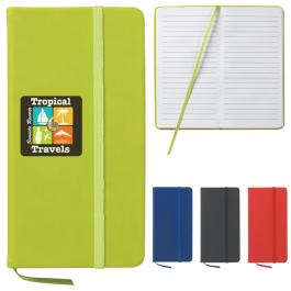 "Customized 3 1/2"" X 6 1/2"" Journal Notebook"