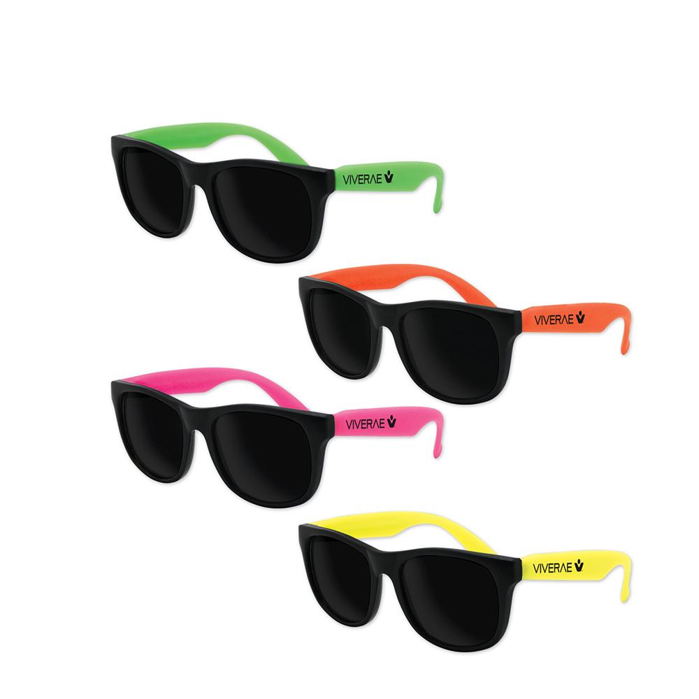 Customized Kids Classic Neon Sunglasses