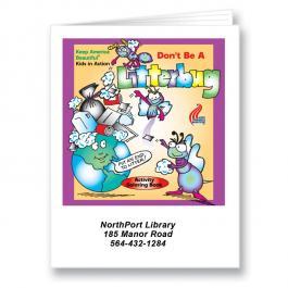 Customized Litterbug Coloring Book
