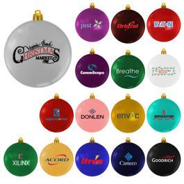 Customized USA Made Flat Shatterproof Ornaments