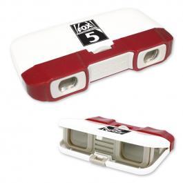Customized Opera Style Binoculars - Red