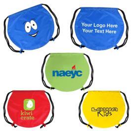 Personalized EmotiBag Drawstring Backpacks - 4 Colors