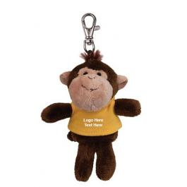 Personalized Wild Bunch Monkey with Key Tags