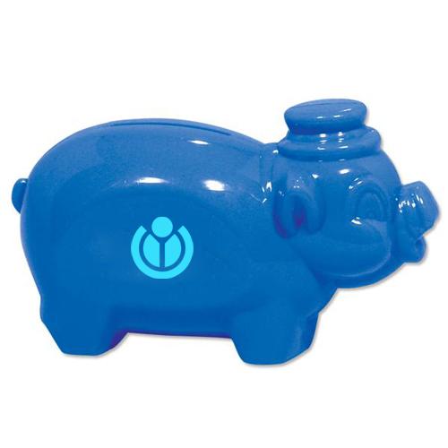 Customized Smash It Piggy Bank - Blue