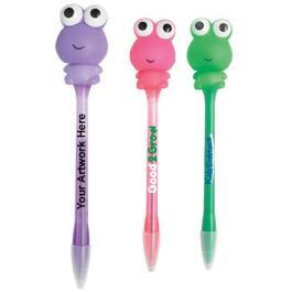 Promotional Logo Frog Light Pens