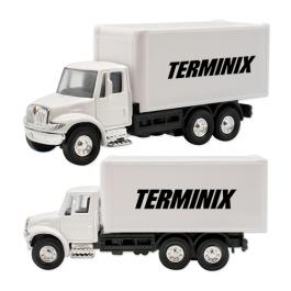 Promotional Logo International Box Truck Diecast Toys