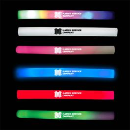 Promotional Logo Light Up Foam Sticks