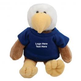 Promotional Logo Mascot Plush Eagles