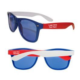 Promotional Logo Multicolored Oahu Sunglasses