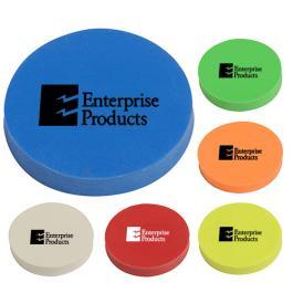 Promotional Logo Round Erasers