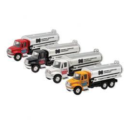 Promotional Oil Tanker Pull Back Assortment Die-Cast Toys