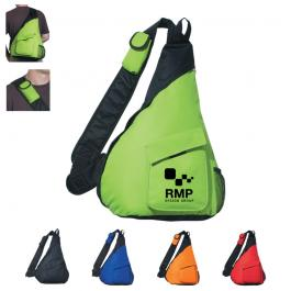 Promotional Polyester Sling Backpack