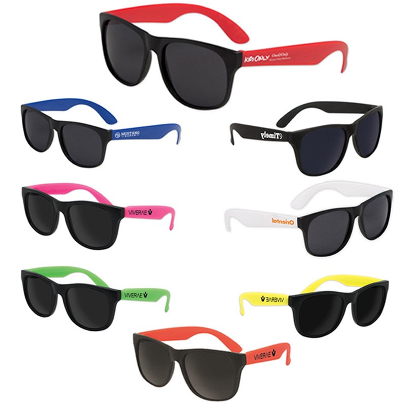 Customized Kids Classic Sunglasses - 7 Colors