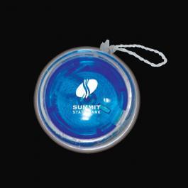 Personalized Light Up Yo-Yo - Blue